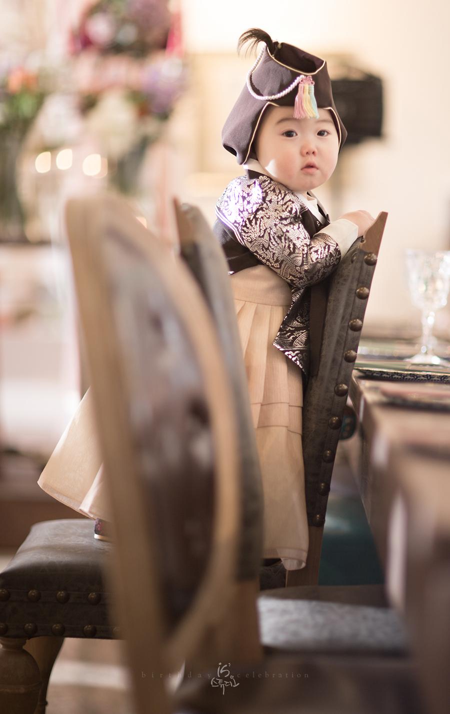 설레움55에서 진행한 우리아가의 첫생일