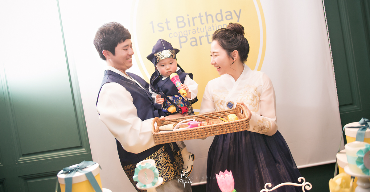 하준이의 1st Birthday Celebration [studio concept & out concep]