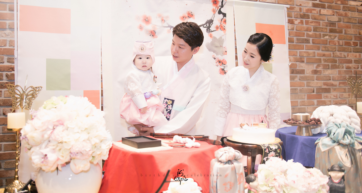 연서의 1st Birthday Celebration
