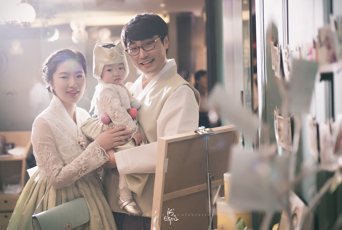 소민이의 1st Birthday Celebration