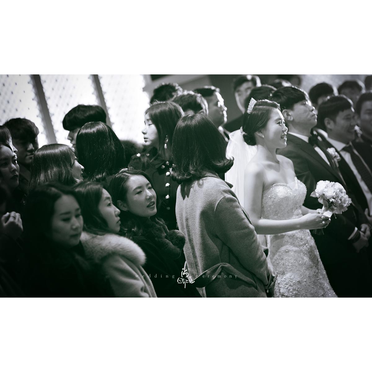 MBC컨벤션에서 진행한 아름다운날 Wedding march