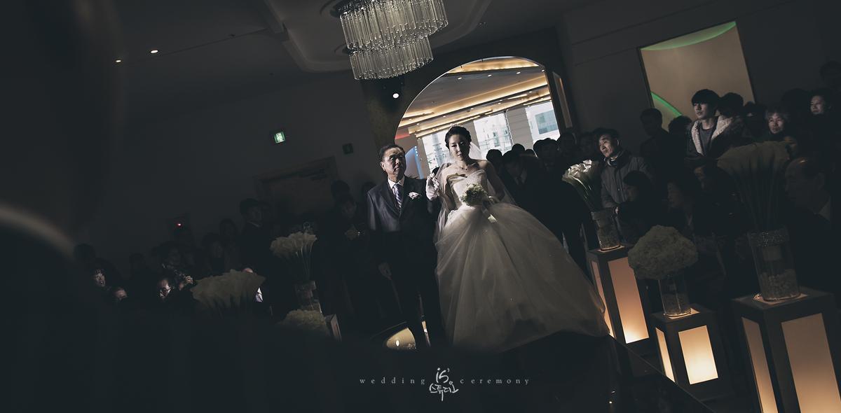 갤럭시에서 진행한 아름다운날 Wedding march