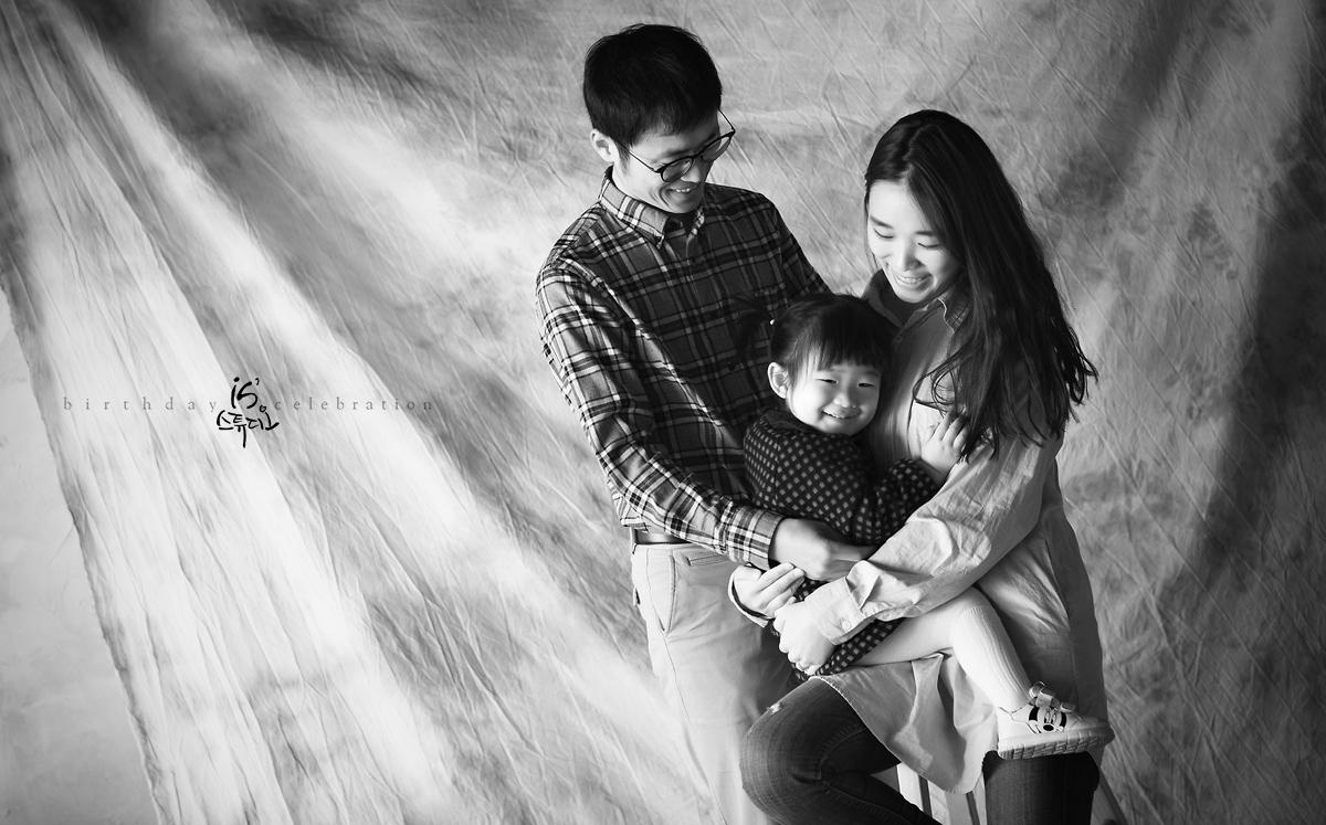 일년에 한번씩 - 가족성장사진