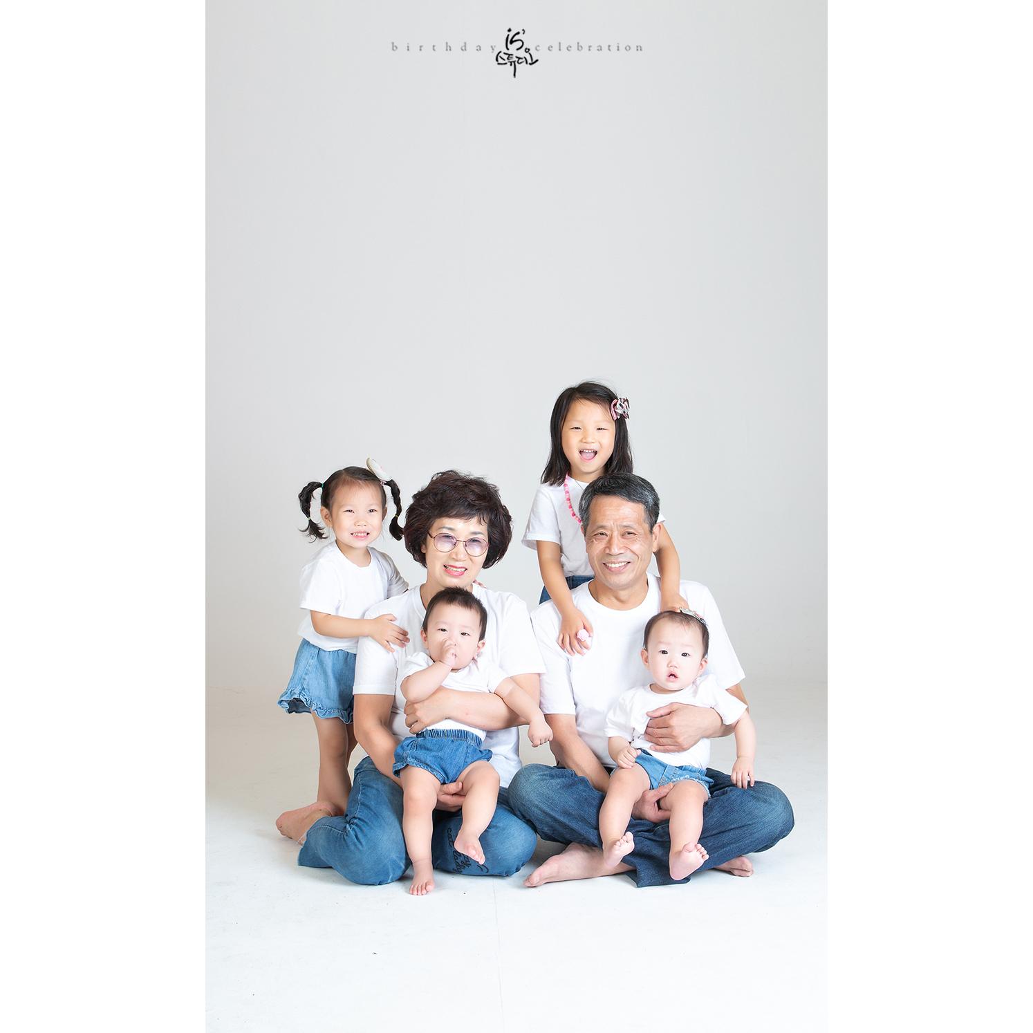 소중한 한장의 사진 가족사진
