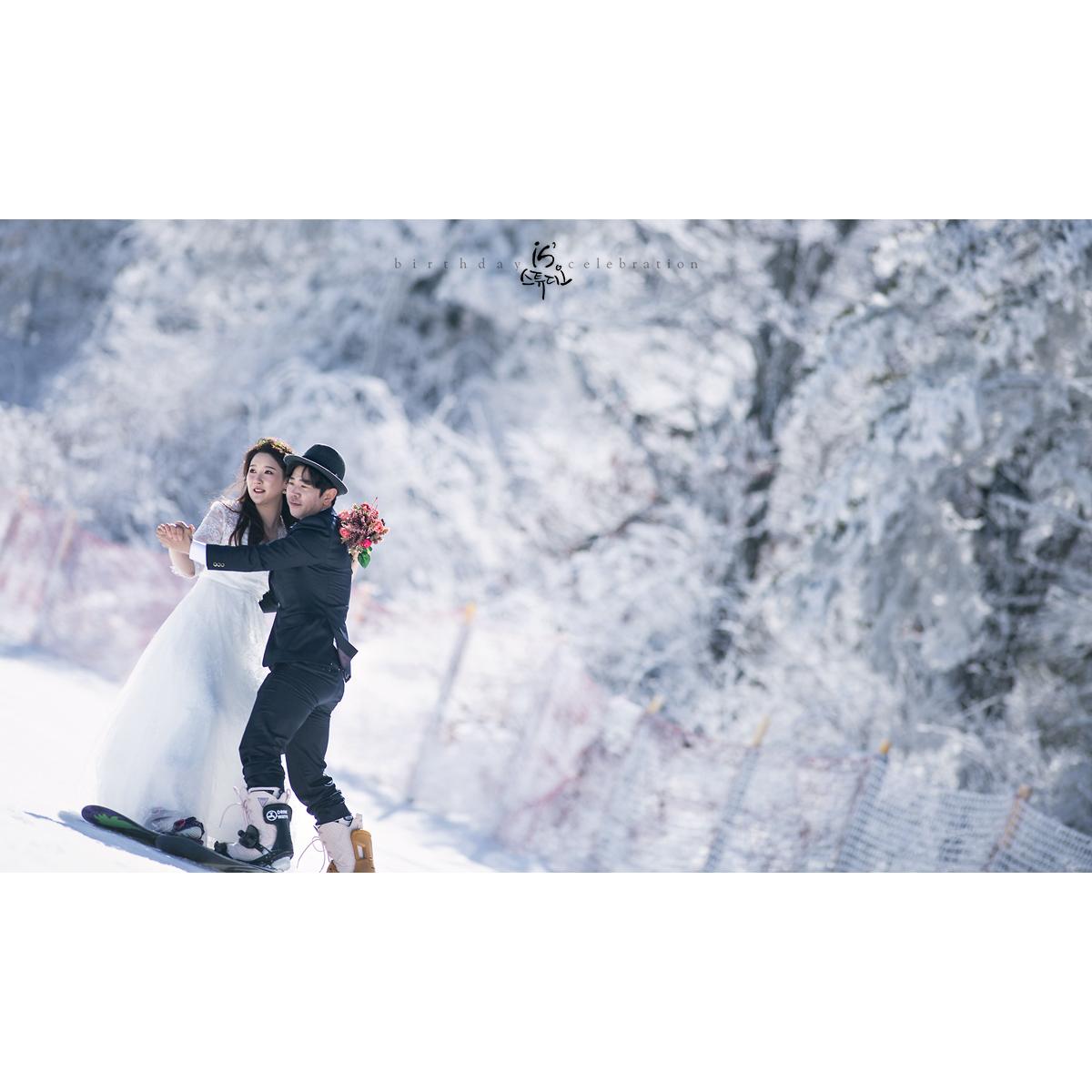 무주에서 특별한 웨딩촬영