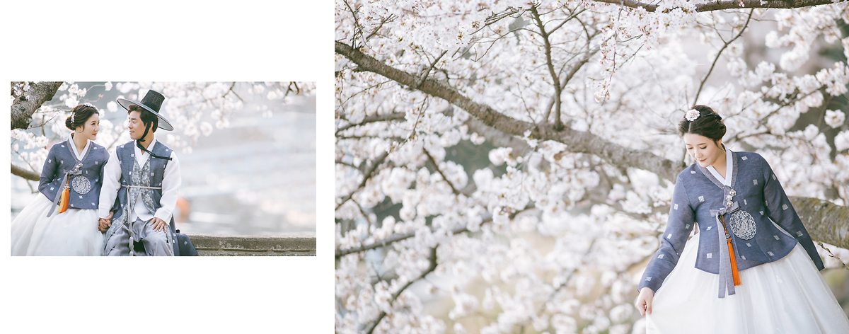계절의 변화의 아름다움 심플웨딩 & 빈티지웨딩 셀프웨딩 - 이즈스튜디오 - 웨딩스냅 제주웨딩 진주웨딩