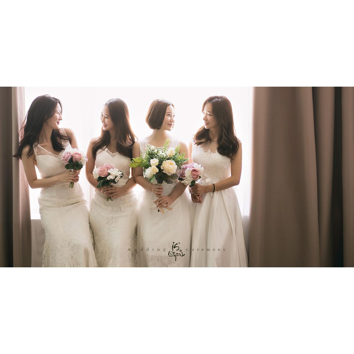 친구들과 함께하는 웨딩촬영  Bridal Shower